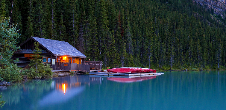 Cabin and Canoes